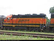 BNSF 2032 (GP35 rebuild) GP38-2