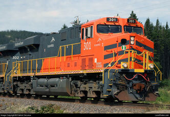 Cartier Railway ES44AC's