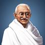 Mahatma portret