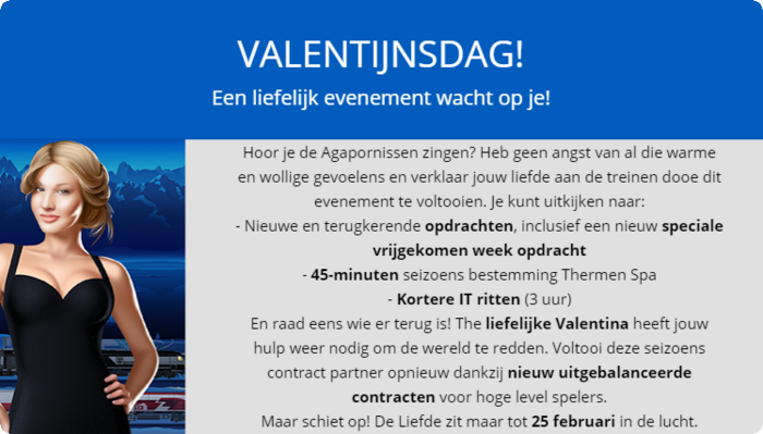 Aankondiging Valentijnsdag 2019