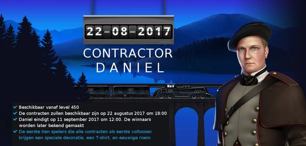 Aankondiging Daniel