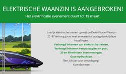 Aankondiging Elektrische Extravaganza 2018