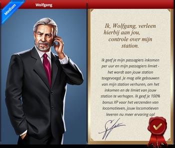 Wolfgang Certificate