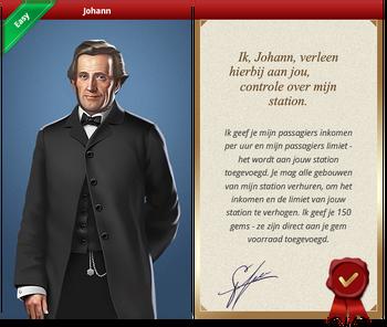 Johann Certificate