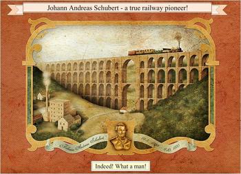 Johann True railway pioneer