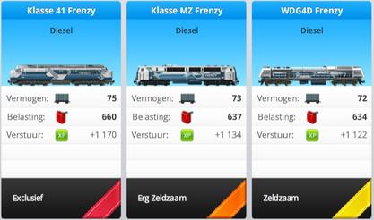 Mechanical Cache trains nl