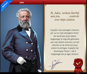 Jules Certificate