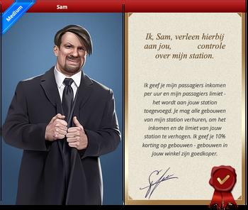 Sam Certificate