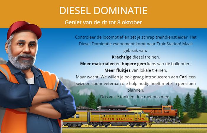 Aankondiging Diesel Overheersing 2018