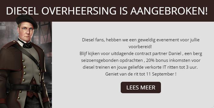 Aankondiging Diesel Overheersing 2017