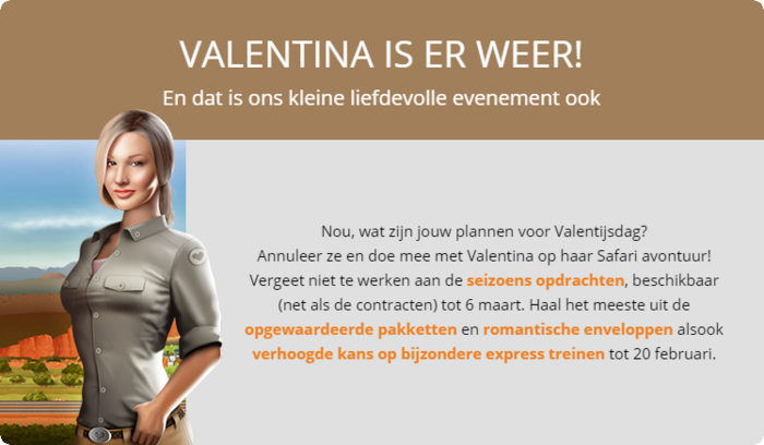 Aankondiging Valentijnsdag 2017