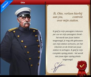 Otto Certificate