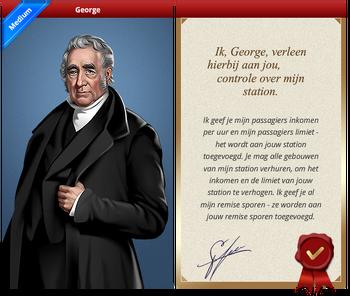 George Certificate