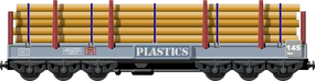 Plastic Tube Carrier