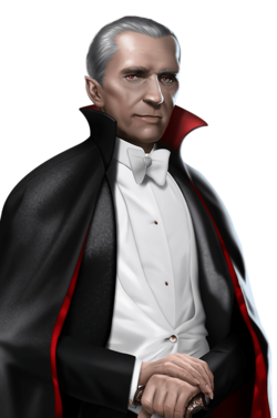 Portrait full Dracula (2019)