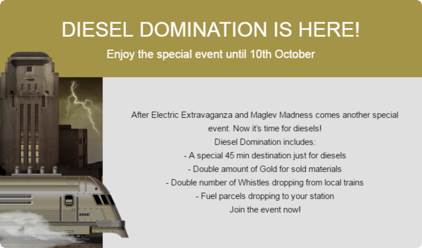 Announcement Diesel Domination