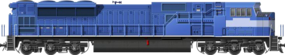 EMD SD80MAC