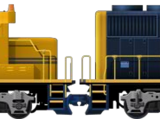 EMD GP50 Double (Blue)