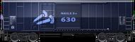 Svarta Nails S+