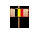 Sign - BEL (Wood)