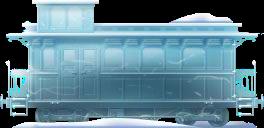 Frozen Caboose