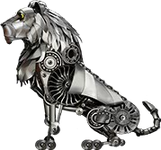 Metallic Lion