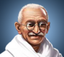 Portrait small Mahatma