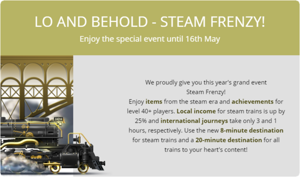 Steam Frenzy 2016