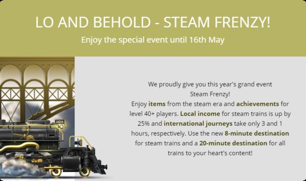 Steam Frenzy 2016