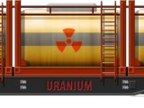 Uranium Tank Car