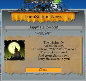 Halloween 2013 greeting