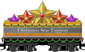 Yule Star Toppers
