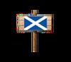 Sign - Scotland (Wood)