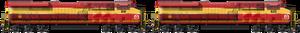 Old ES44AC FEC Double