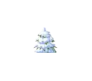Small Snowy Tree
