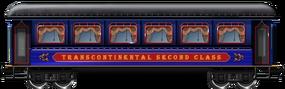 Transcontinental 2nd class
