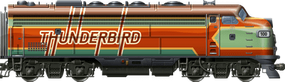 Thunderbird EMD F9