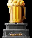 Golden Beer Mug