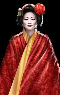 Portrait full Mizuki