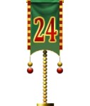 Advent Flag 24 (Gift)