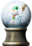 Snowman's Globe