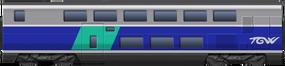 TGV Duplex 2nd Class