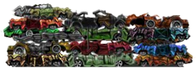 Scrap Car Bodies