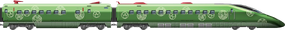 Shinkansen Emerald
