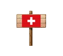 Sign - SUI (Wood)