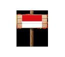 Sign - IDN (Wood)