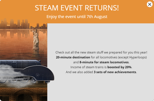 Steam Frenzy 2017