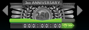TS 3rd Anniversary Level Bar