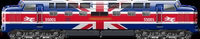 BR 55 Union Jack