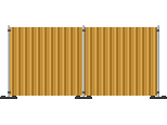 Building Site Fence
